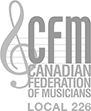 Canadian Federation of Musicians Logo